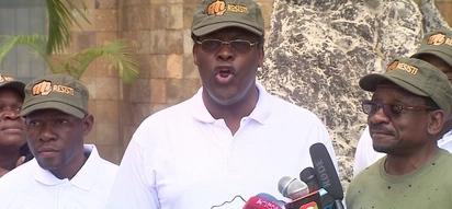 Matatu bearing graffiti of Miguna Miguna excites Kenyans online