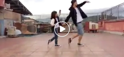 Ang cute! Viral Pinoy father and daughter break the dance floor