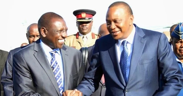 Uhuru reveals how he was beaten badly and his father laughed it off