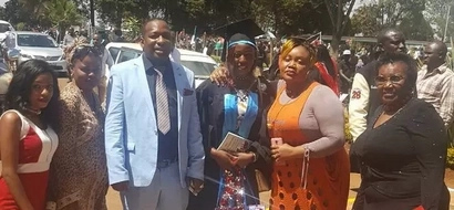 Sonko reveals to the world his 'SECRET' daughter during her graduation and she is really beautiful (photos)