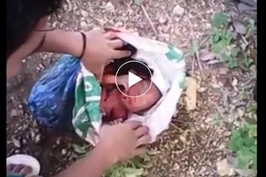 Galit na galit ako! Irresponsible parents abandon baby in a rice bag
