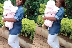 Mjukuu wa Mike Sonko anapendeza kweli kweli (Picha)