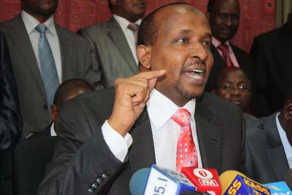 Duale warns Raila against choosing Joho as running mate