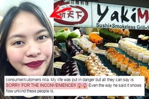 You will be fuming mad when you learn what Yakimix Ermita told this girl after she was hospitalized due to food poisoning!