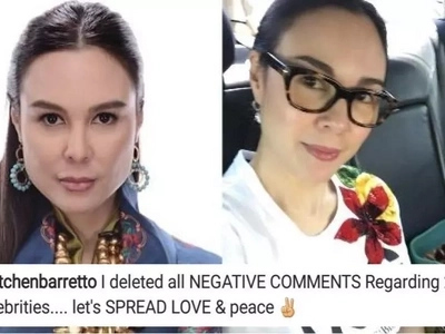 Walang awayan dito! Gretchen Barretto tells netizens to 'spread love & peace' on this controversial IG post