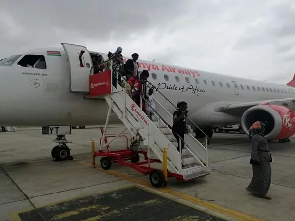 Jubilation as Kenyans stranded in Juba arrive home