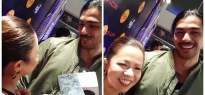 Sweet pair Kiray Celis and hottie Kirst Viray were asked if they are in a relationship and their stares just say it all