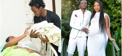 Bahati's marriage on the rocks over alleged secret DNA test on one month old daughter