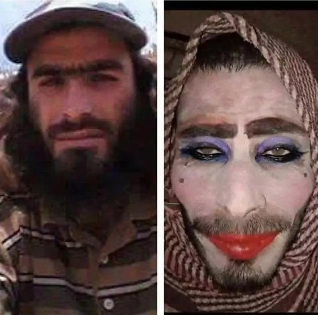 Jihadist attempts to escape Mosul by disguising himself as woman but forgot to shave his beard