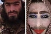 Jihadist attempted to flee Mosul by disguising himself as woman but forgot to shave his beard