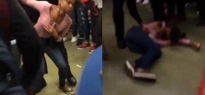 Police Officer Slams Teenage Girl Like A Pro Wrestler