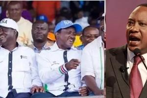 Wanasiasa wa NASA wameapa kupinga mkataba huu kati serikali ya Jubilee na rafiki mkuu wa Raila Odinga