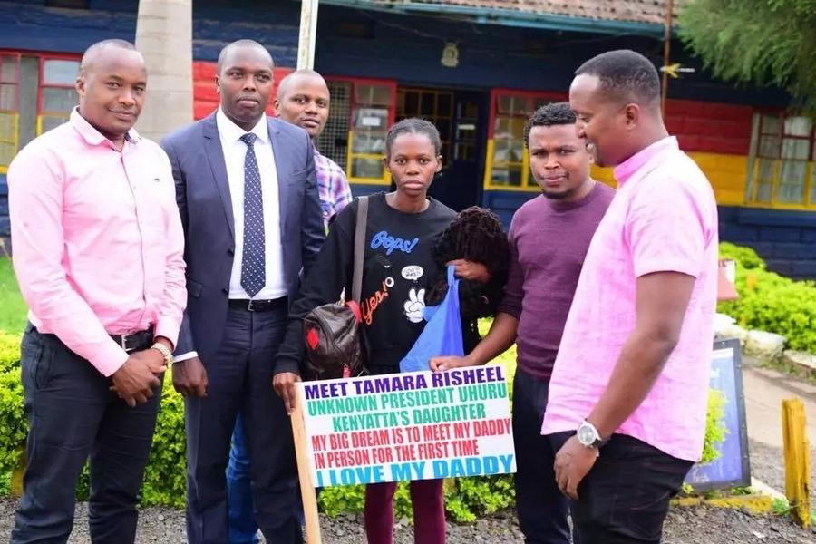 Jaguar bails out lady who claimed to be Uhuru Kenyatta's daughter