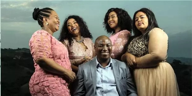 Polygamy secrets! 43-year-old TV personality who is married to 4 wives reveals secret to polygamy (Photos)