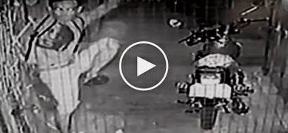 Notorious Pinoy thief caught on CCTV stealing clothes from tiangge at Navotas market