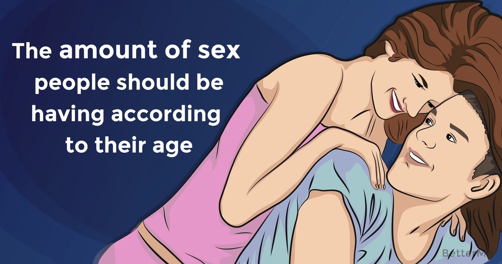 How much sex people should have according to their age