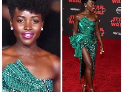 Lupita Nyong'o awaacha mashabiki wake kinywa wazi baada ya kuvalia rinda lililogharimu Ksh 224 000