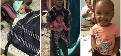 Hilarious! Dad does exactly as he's told and tucks daughter in bed - while she's still in her car seat