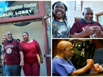 Man, 62, released after being wrongly jailed for 32 YEARS, says he is not angry (photos)