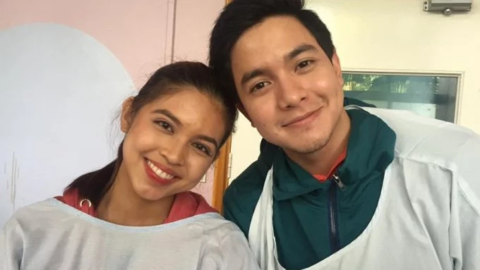 Alden Richards and Maine Mendoza surprised sick fan