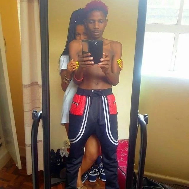 Are Eric Omondi and his fianccee addicted to semi-nude pics?
