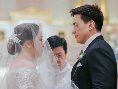 Walang gimik-gimik, pag-ibig lang! Wendell Ramos and Kukai Guevarra's wedding highlights video released