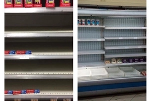Rare images of totally EMPTY shelves at various Nakumatt branches have set social media on fire (photos)