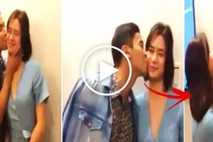 Enchong Dee was caught on video kissing Erich Gonzales twice on the cheek! What Erich did next will shock you!