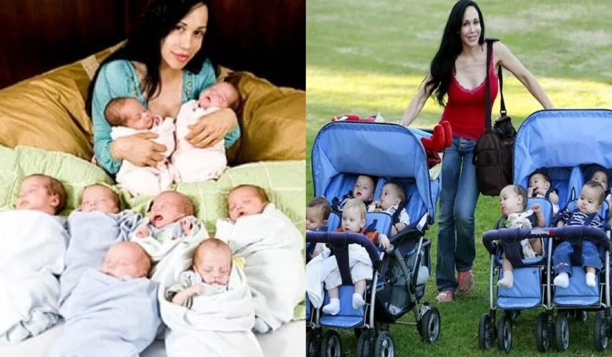 Meet the first woman to give birth to octuplets