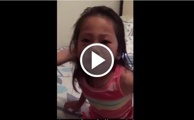 Esta niña piensa que su hermana morirá. ¡Mira su increíble reacción!