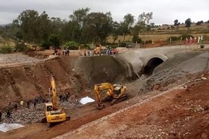 SGR workers killed after a section of railway collapsed in Naivasha