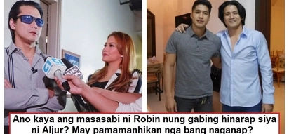 Nag-react na si Binoe! Robin Padilla finally speaks up about the night Aljur Abrenica faced him