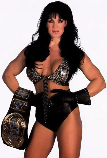 Chyna was the first woman to compete in the Royal Rumble