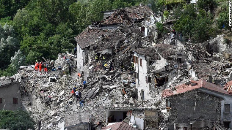 Death toll reaches 247 in Italy earthquake