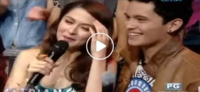 James Reid stunned by Marian Rivera's 'chinita-mestiza' beauty