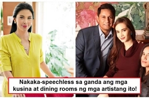 Iba talaga ang mayaman! 6 Kitchens and dining areas owned by famous Pinoy celebrities