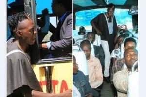 Popular comedian spotted touting in Buruburu matatus