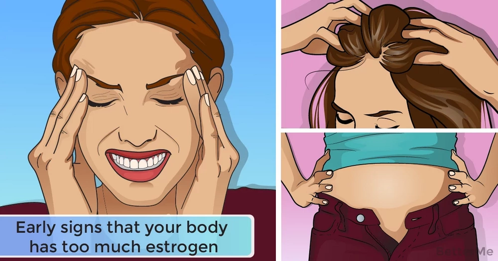 Early signs that your body has too much estrogen