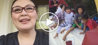 Vlogger na siya! Sharon Cuneta shares son's birthday celebration on her YouTube channel