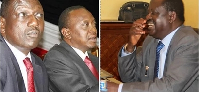 Raila's 10 questions to Uhuru after 'receiving' a 'bribe' from ARABS
