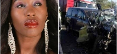 Mike Sonko rushes to the rescue of female politician involved in GRISLY accident that killed four