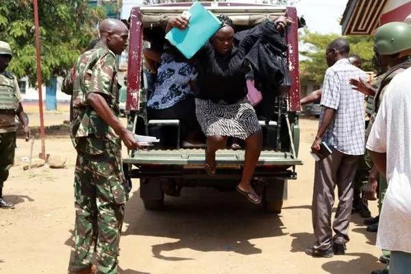Teachers arrested