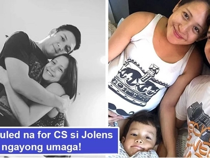 Scheduled na for CS mamaya! Jolina Magdangal to undergo cesarean operation this morning, family asks for prayers