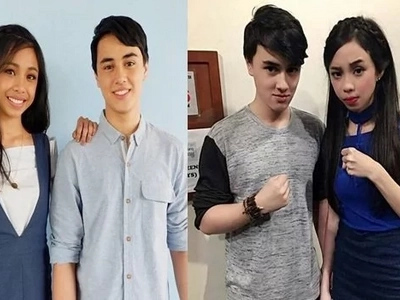 Maymay Entrata and Edward Barber, excited on their first London trip together!