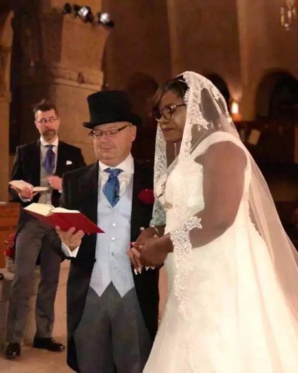 The wedding has caused a stir online. Photo: myzimbabwe.co.zw