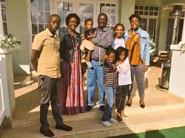 After Uhuru's son, Raila's kids joins his campaign detail
