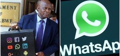 Hilarious! Zimbabwe now has a 'Minister of WhatsApp' as President Mugabe reshuffles Cabinet