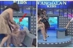 Watch Vice Ganda fall off his chair while interviewing a young contestant on 'Tawag ng Tanghalan' segment!