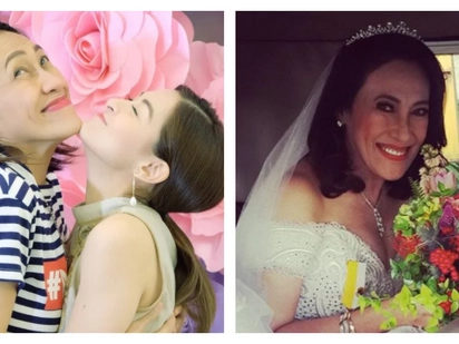 Ang bait na kaibigan! AiAi Delas Alas' wedding gown is a gift from Marian Rivera