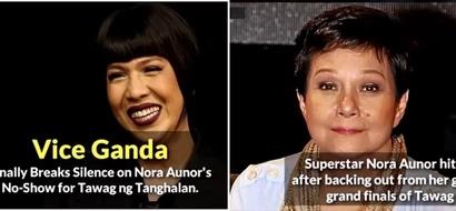 Nagsalita na rin si Vice Ganda! This is what he said on Nora Aunor's controversial 'pambabastos' statements